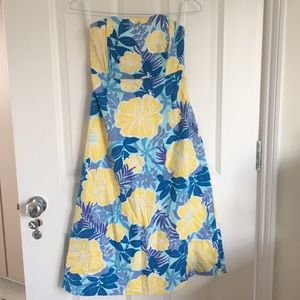 Strapless Lilly Pulitzer dress 2